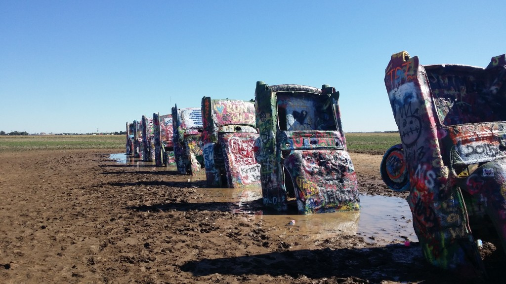 Cadillac Ranch i Texas